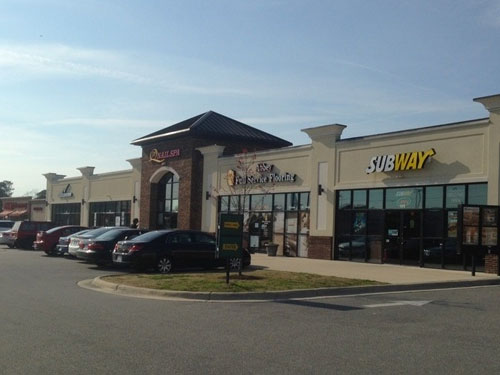 Retail Space for sale Greenville NC